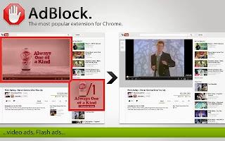 برنامج حجب اعلانات موقع اليوتيوب Adblock for Youtube