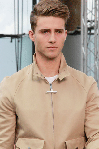 Louis Vuitton Men hairstyle summer 2012