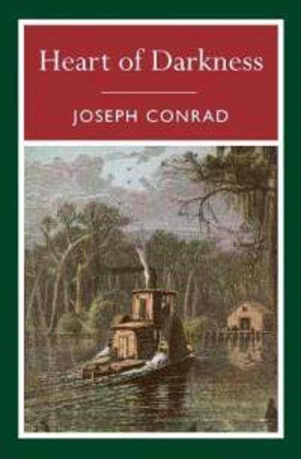 an analysis of joseph conrads novel heart of darkness Joseph conrad's masterpiece about a life-changing river journey to contact  on a journey into the heart of  heart of darkness comes down to us in three.
