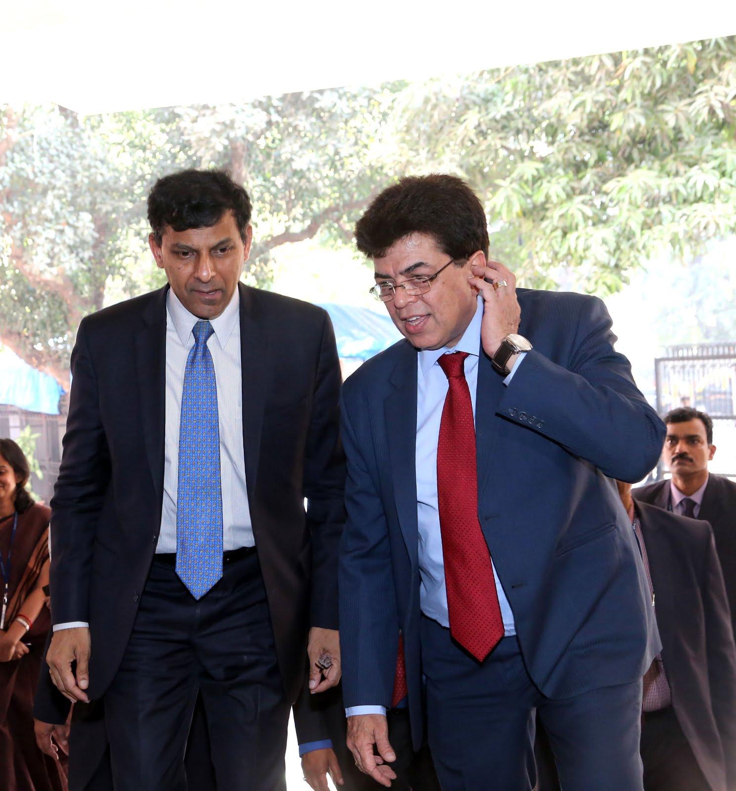 With the Former Governor of RBI Mr Raguram Rajan at DDK Mumbai