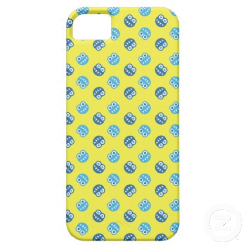 Colorful Funny Bugs Yellow Patterned iPhone 5 Cover