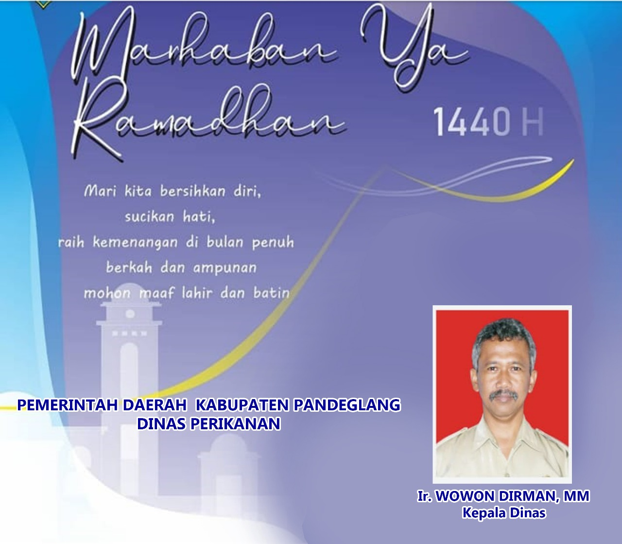 Ir.Wowon Dirman,MM