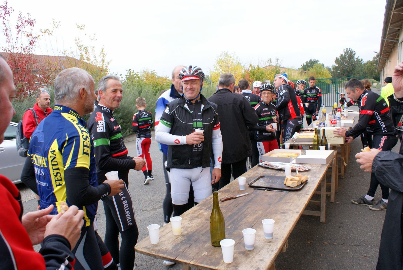 Union cycliste bellevilloise ucb rando alain canard 2015 for Garage peugeot paris nice belleville