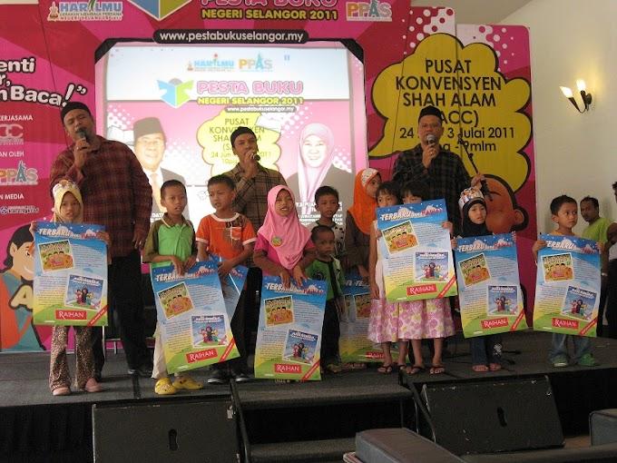 Raihan di Pesta Buku Selangor 2011
