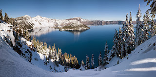 http://commons.wikimedia.org/wiki/File:Crater_Lake_winter_pano2.jpg