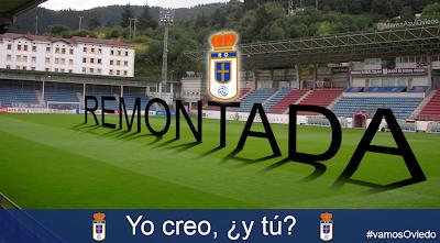Remontada del Real Oviedo en Ipurua.