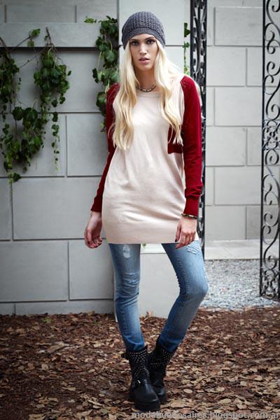 Moda invierno 2014 ropa de mujer otoño invierno 2014 Vov Jeans.