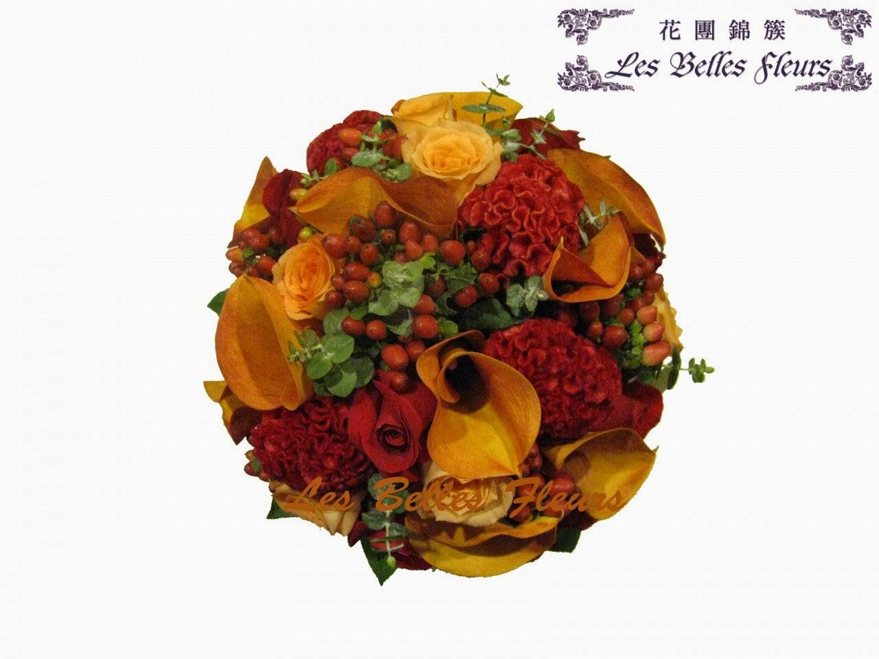 紅色馬蹄蘭花球都係花團錦簇的做得好