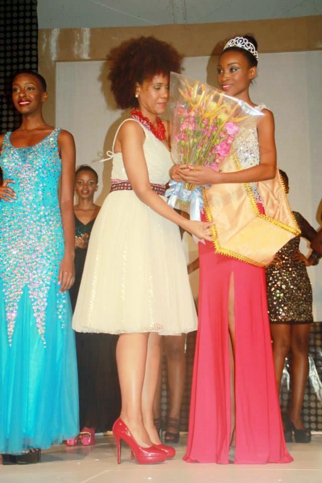 Miss Universe Tanzania 2015 winner Nale Boniface