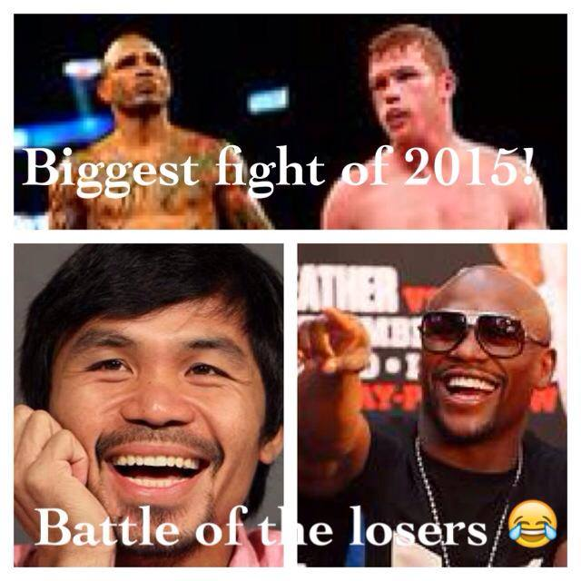 two losers of Floyd and Manny say their the biggest fighter of 2015