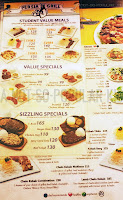 Persia Girll Student Value Meals Menu and Prices