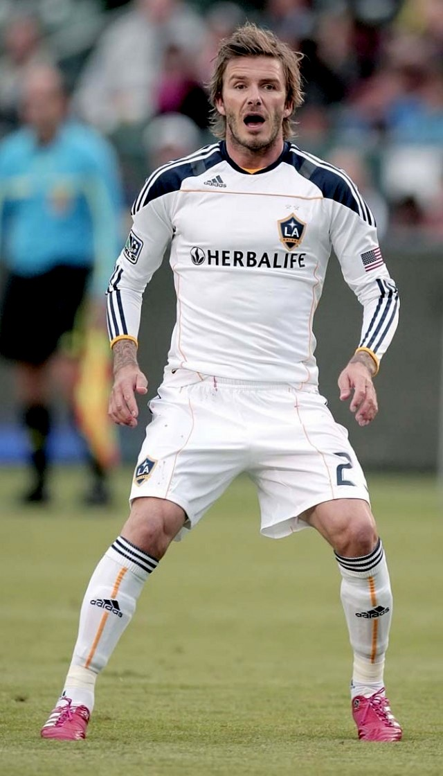 David Beckham • Football Player