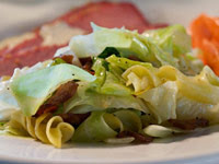 Sauteed Irish Cabbage with Noodles