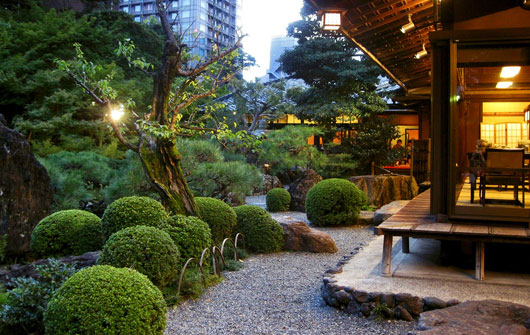 Let 39 s learn japanese japanese gardens nature for Modern japanese tea house design