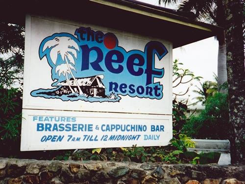 FIJIで滞在したのは<リーフリゾートホテル(The Reef Resort)>