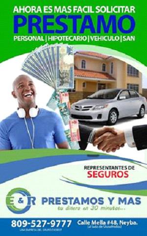 E&R PRESTAMOS Y MAS: Préstamos Personal/Hipotecario/vehículo/San, Calle Mella, No. 48, Neyba