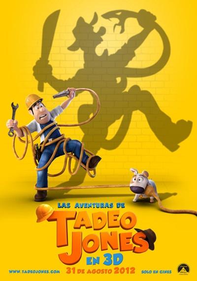 Las aventuras de Tadeo Jones DVDRip Español Latino