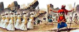 Hyvä Herra johti Jerikon massamurhaa