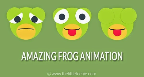 Amazing frog animation using CSS