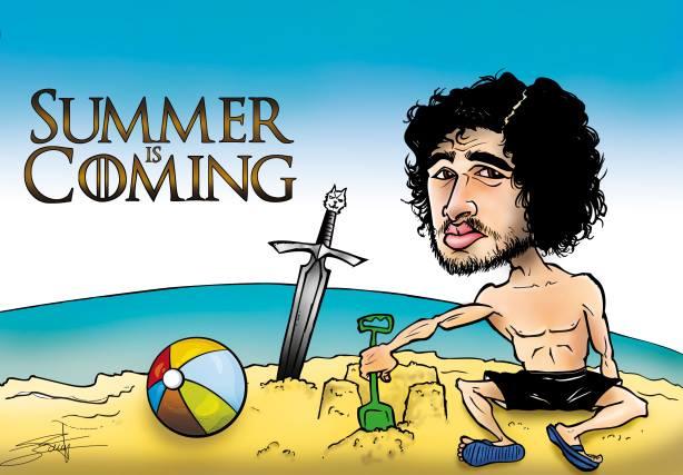 Summer is coming Jon Nieve - Juego de Tronos en los siete reinos