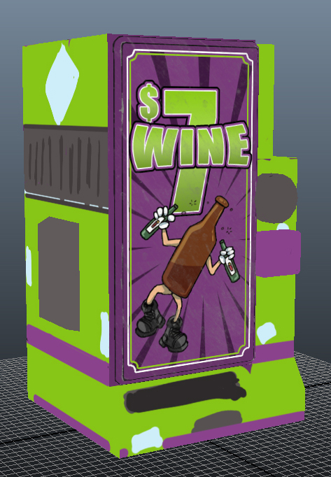 vending machine texture