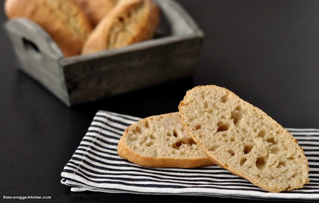 Dinkel-Baguette-Brötchen