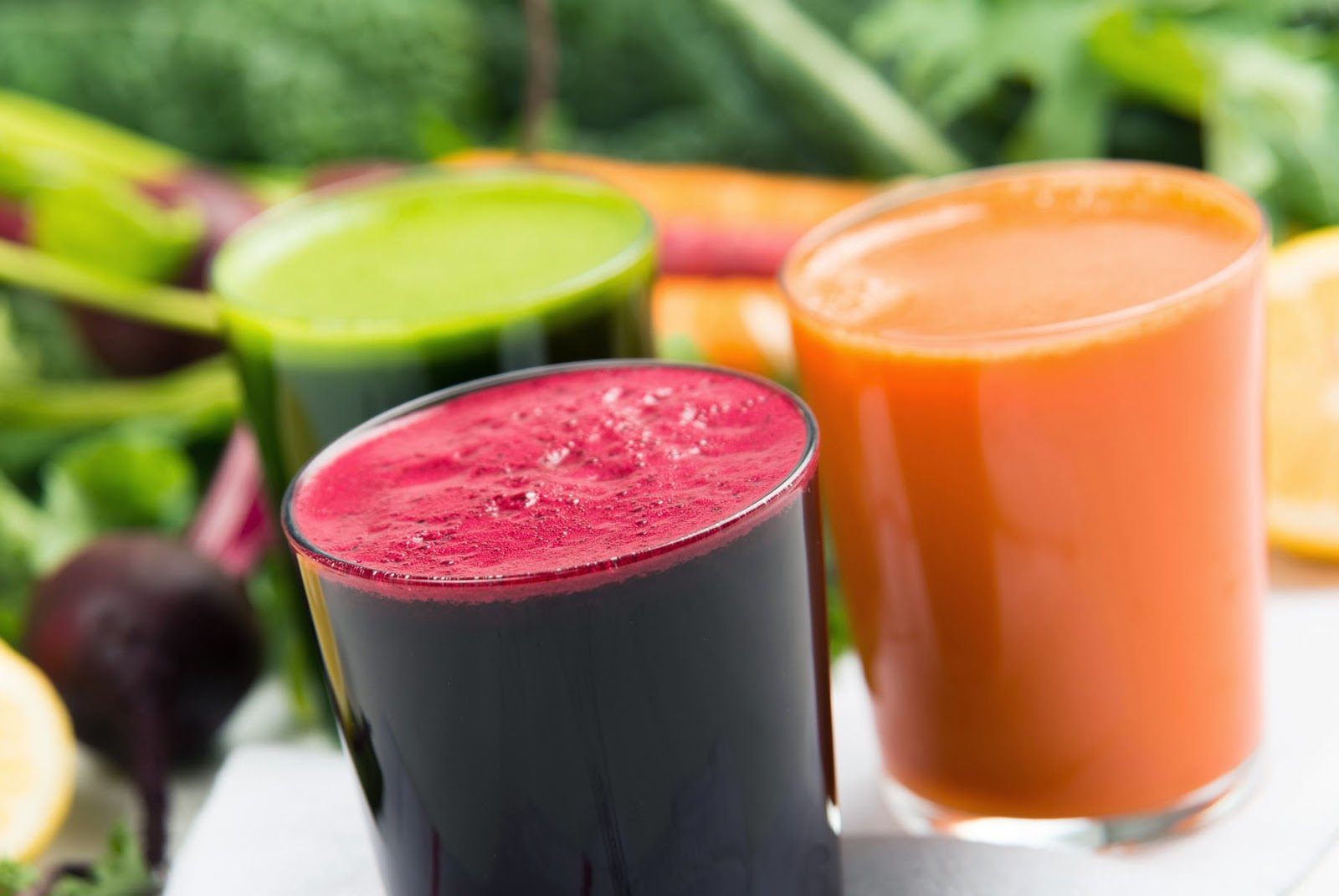 organic healthy juices