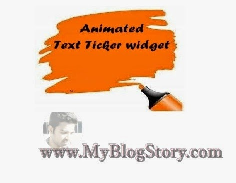 How to add Animated Text widgets to website or Blog Posts