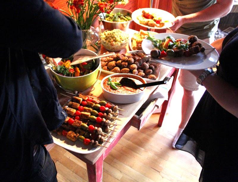 Vegansk Tapas Menyforslag Tapasmeny Vegetartapas Hjemmelaget
