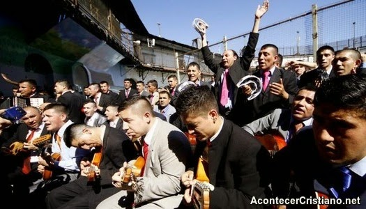 Presos evangélicos chilenos