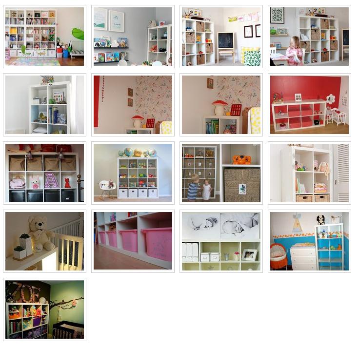 Alb m en facebook expedit en habitaciones infantiles baby deco - Ikea estanterias libros ...