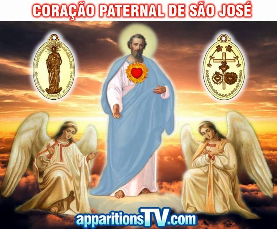 CORAÇÃO PATERNAL DE SÃO JOSÉ