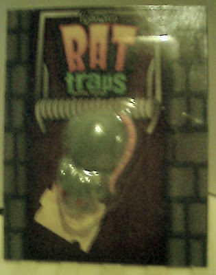 Front of Rat Traps Gummi Halloween Candy