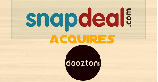 Snapdeal Acquires Doozton