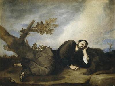 El sueño de Jacob - José de Ribera, 'El Españoleto' - Museo del Prado - Madrid