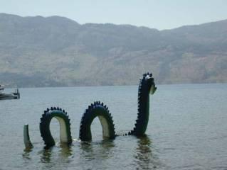 Danau Okanagan tempat Monster Ogopogo