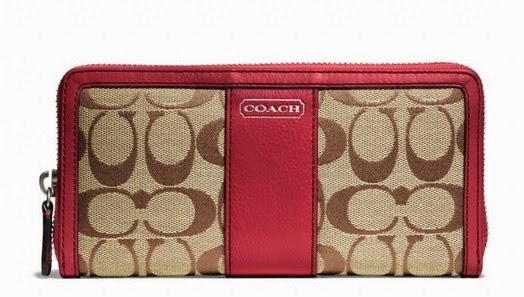 COACH Park Signature Accordion Zip 49159