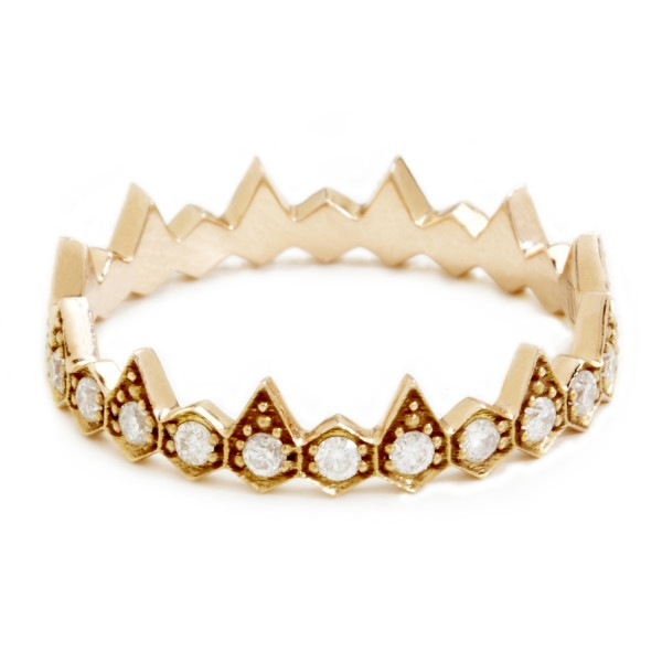 Zig Zag Jewellery: Villette Jewelry: Zig Zag Rings