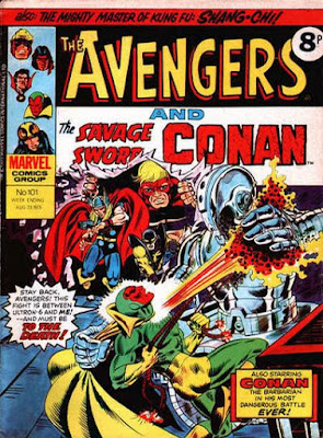 Marvel UK, Avengers #101, Ultron