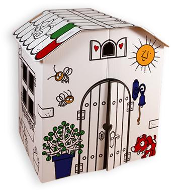 Bateau lune castillos casas granjas a divertirse - Casas para ninos de carton ...