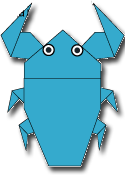 Cara Membuat Origami Kumbang Air