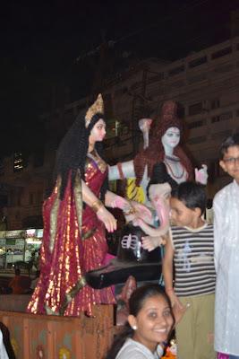 Ganapati Celebration Begin