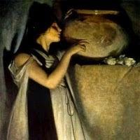 'Isabel i la cassola d'alfàbrega (John White Alexander)'