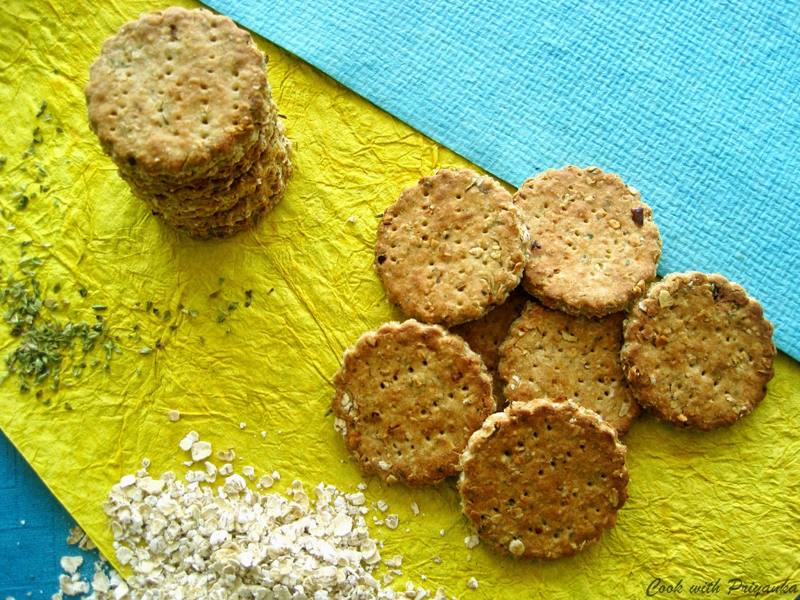 http://cookwithpriyankavarma.blogspot.co.uk/2014/04/oats-whole-wheat-crackers-with-kick-of.html