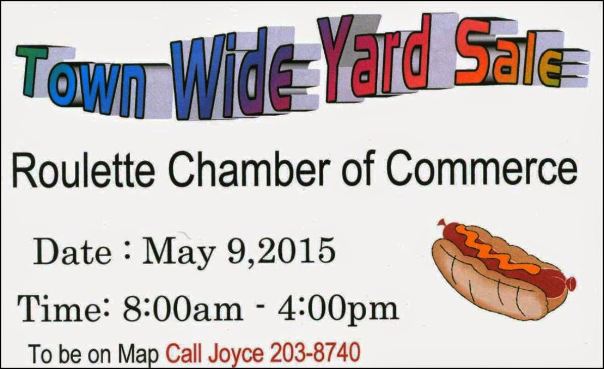 Roulette Town Wide Yard Sale