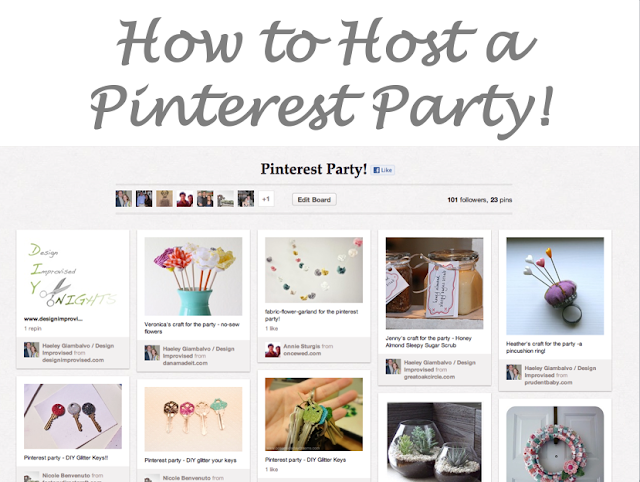 Pinterest Party