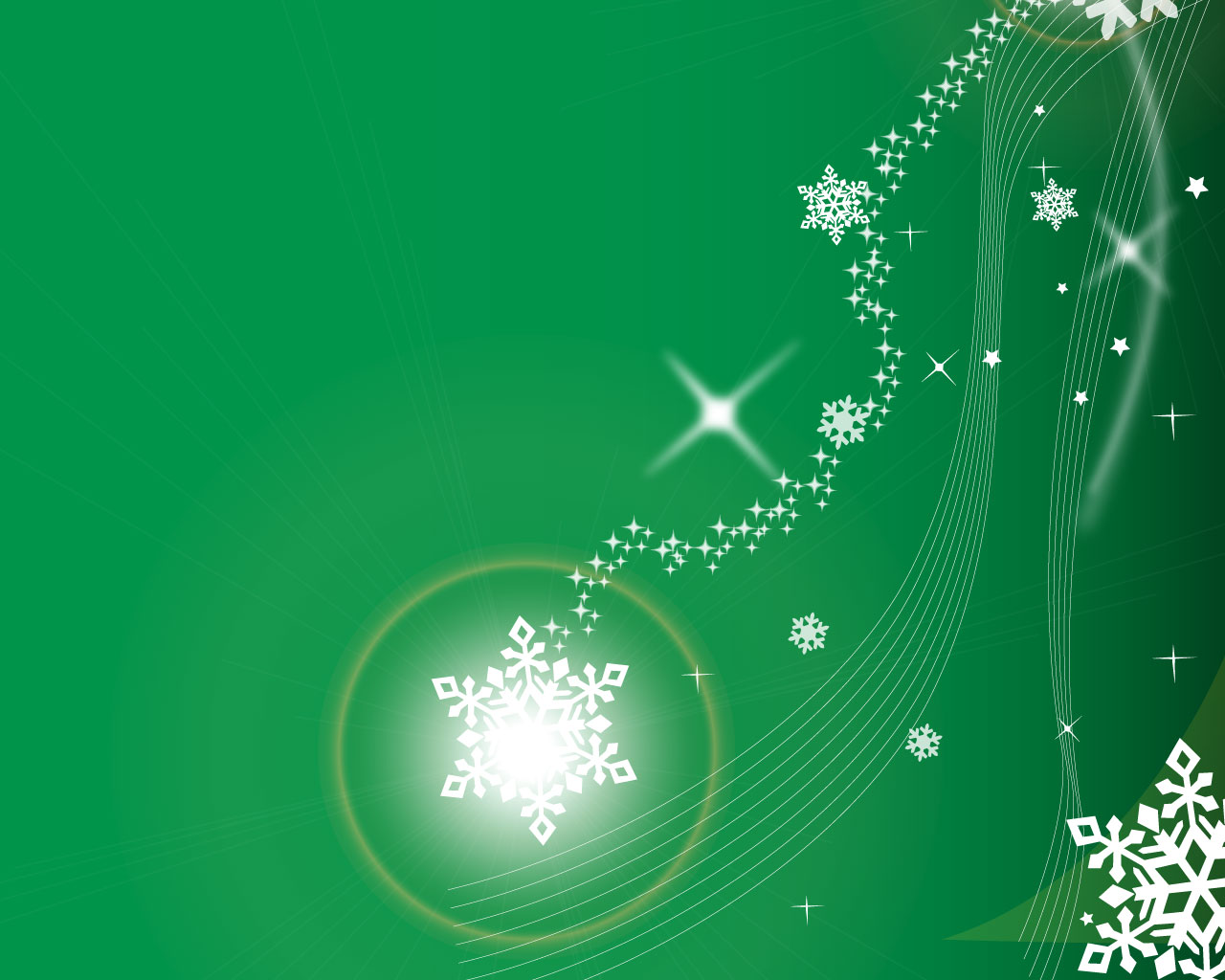 Green Christmas PowerPoint Backgrounds Worship