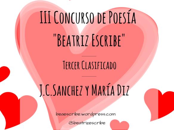 """III concurso poesía """"Beatriz escribe"""""""