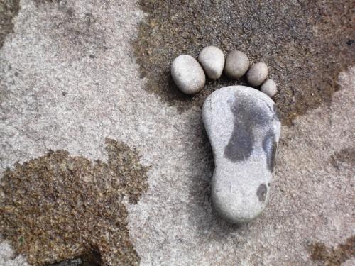 pedras para jardim em sorocaba: Artesanato: Decoração de jardins com artesanato feito de pedra