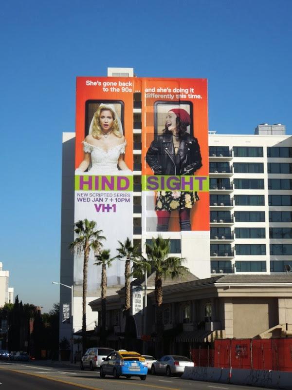 Hindsight VH-1 series premiere billboard Sunset Strip
